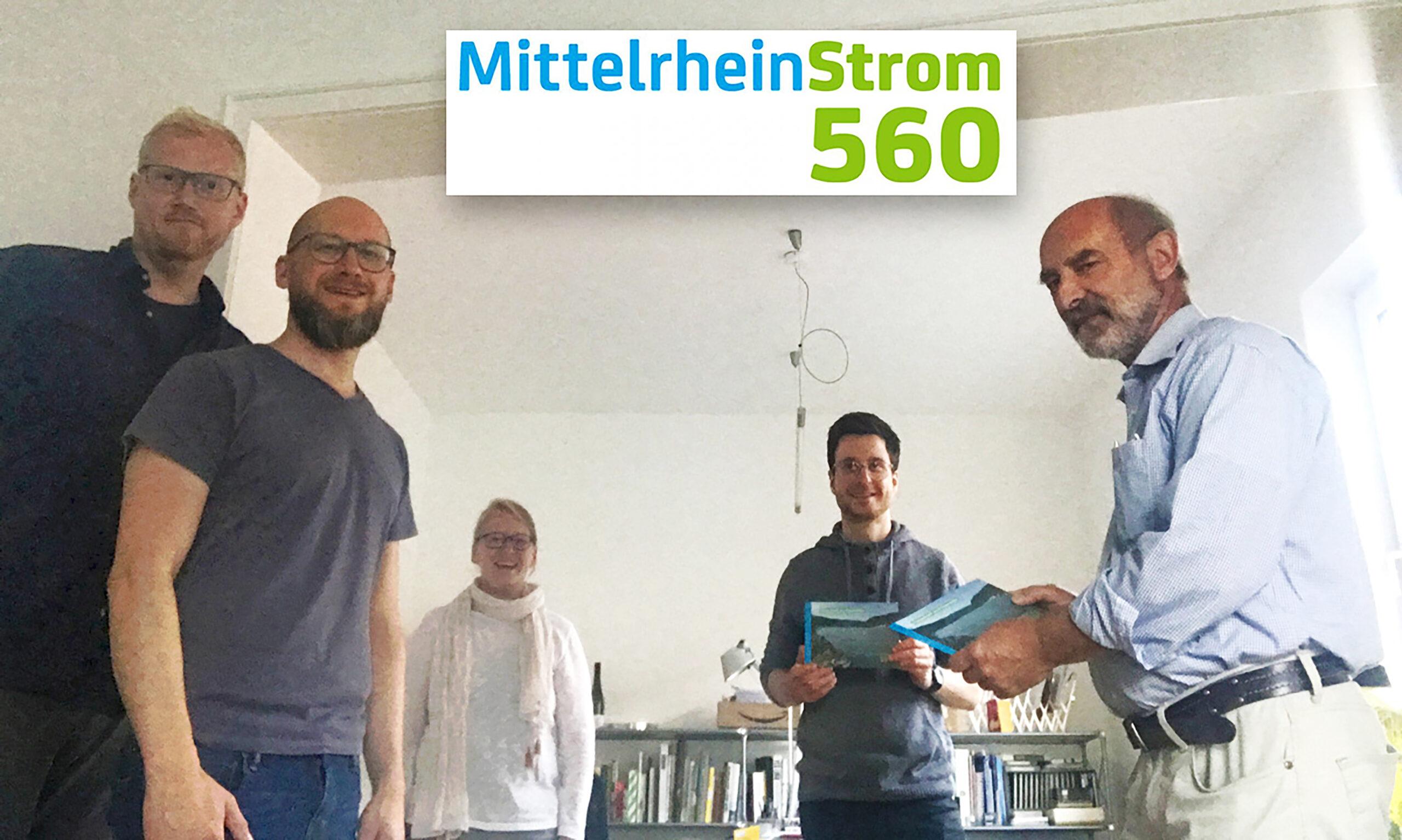 Strom aus dem Mittelrhein ist möglich und greifbar nahe.