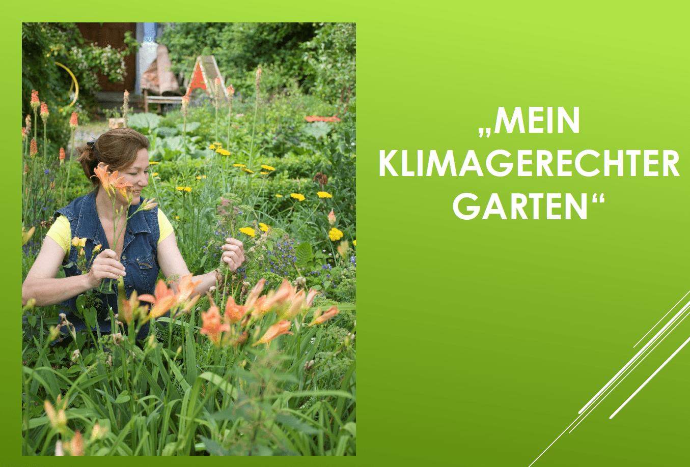Mein klimagerechter Garten – Videovortrag mit Heike Boomgaarden